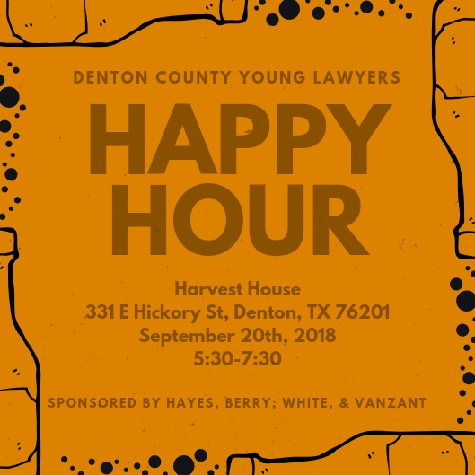Dcyla Happy Hour Denton County Bar Association