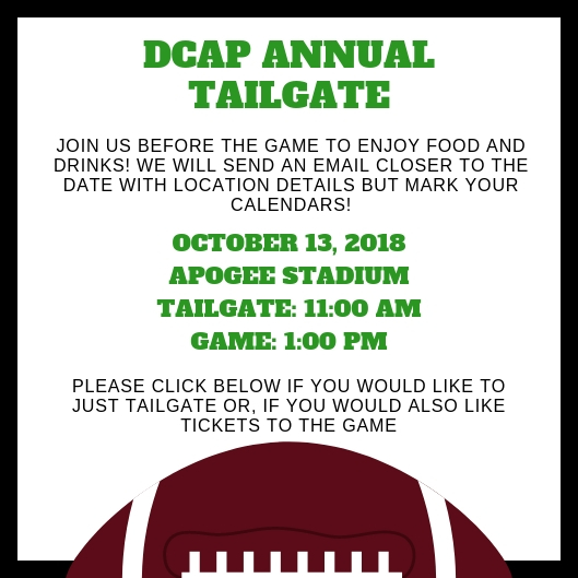 Annual Dcba Tailgate At Unt Denton County Bar Association